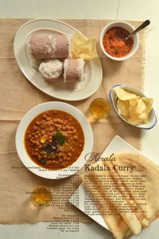 Kerala breakfast menu asian cuisine pinterest kerala kerala kadala curry forumfinder Choice Image