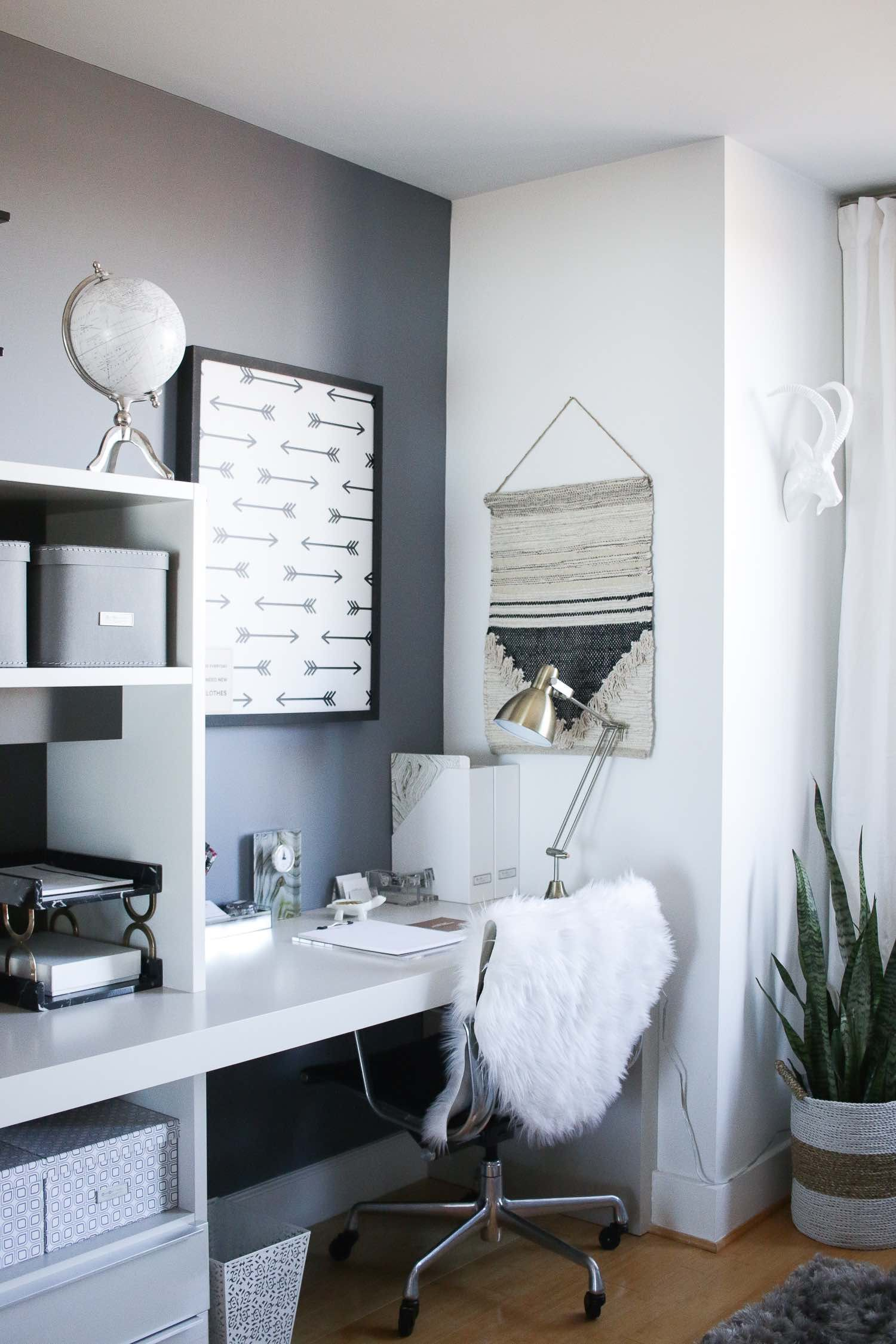 Client Spotlight A Chic And Polished Home Office Home Office