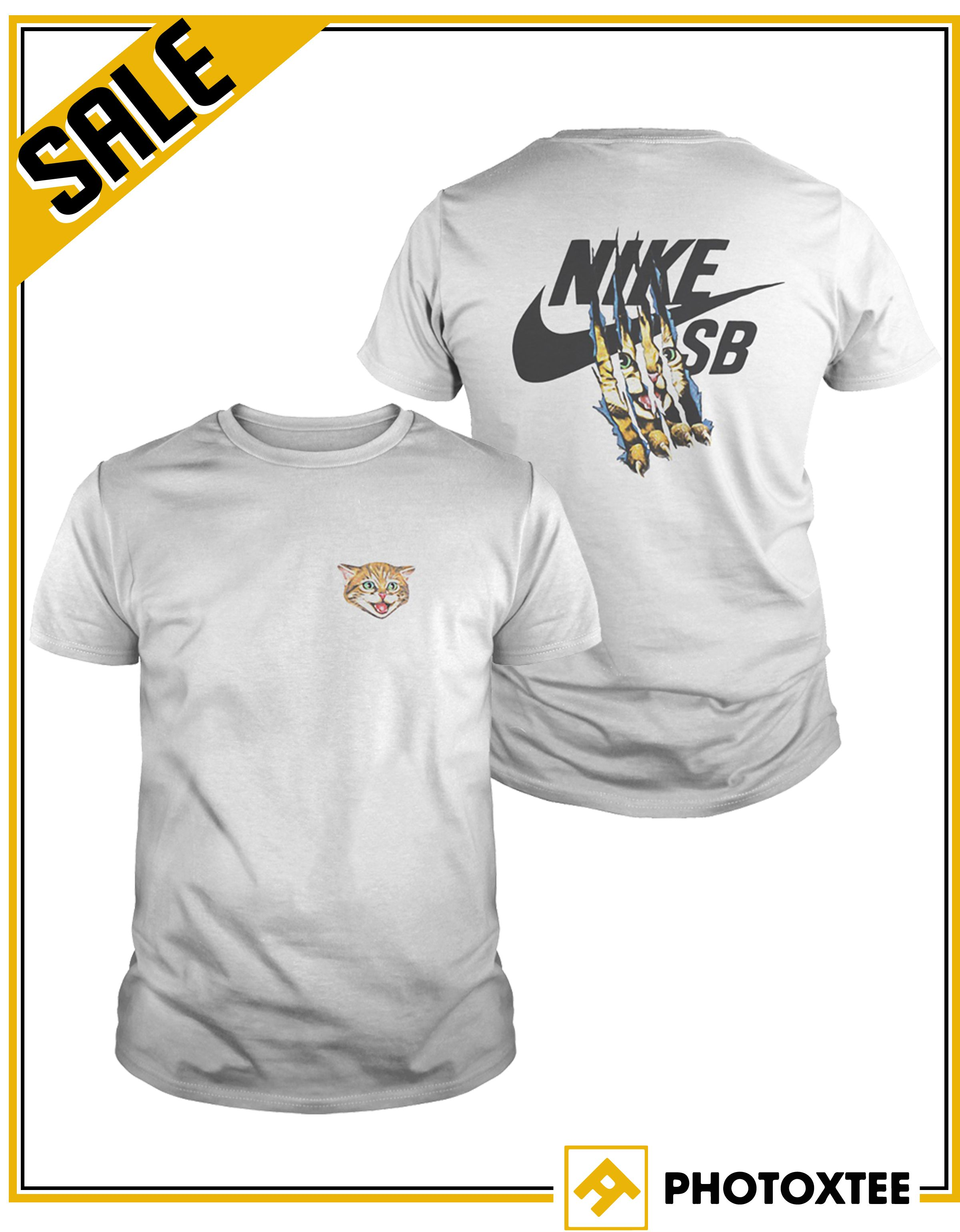 fd9fdfb3d75c Nike Sb Cat Scratch 15 Mens T Shirt