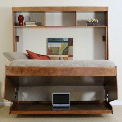 Canora Grey Berner Murphy Bed Wayfair Ca Murphy Bed Desk Murphy Bed Diy Murphy Bed Plans