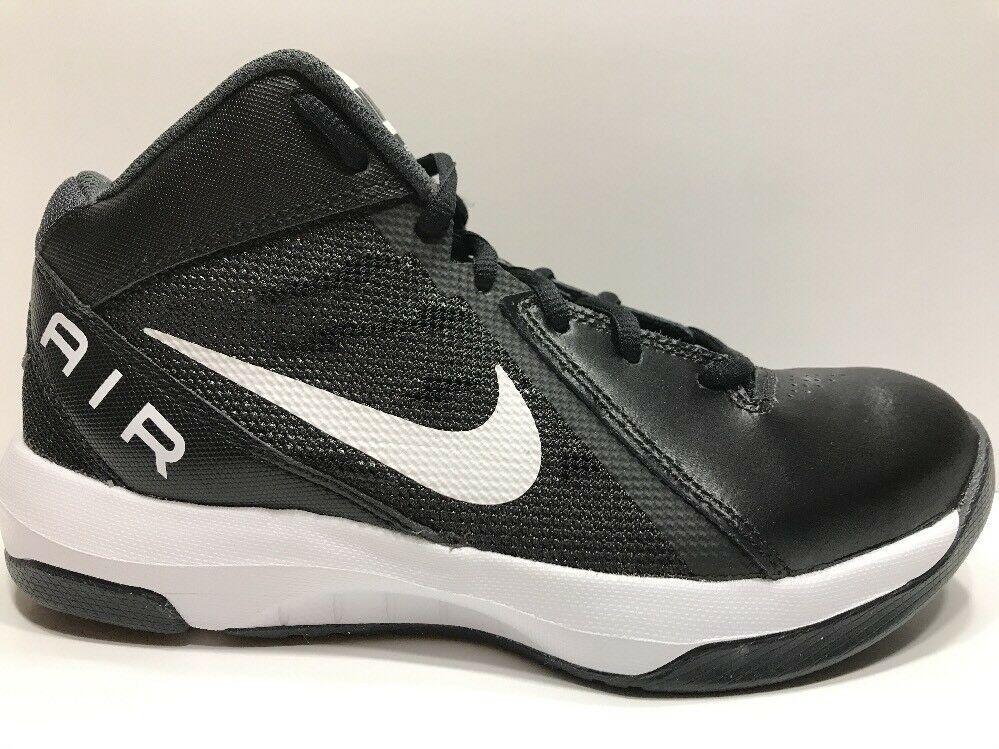 Womens Nike Air Overplay IX Black Basketball Shoes!! SZ 6
