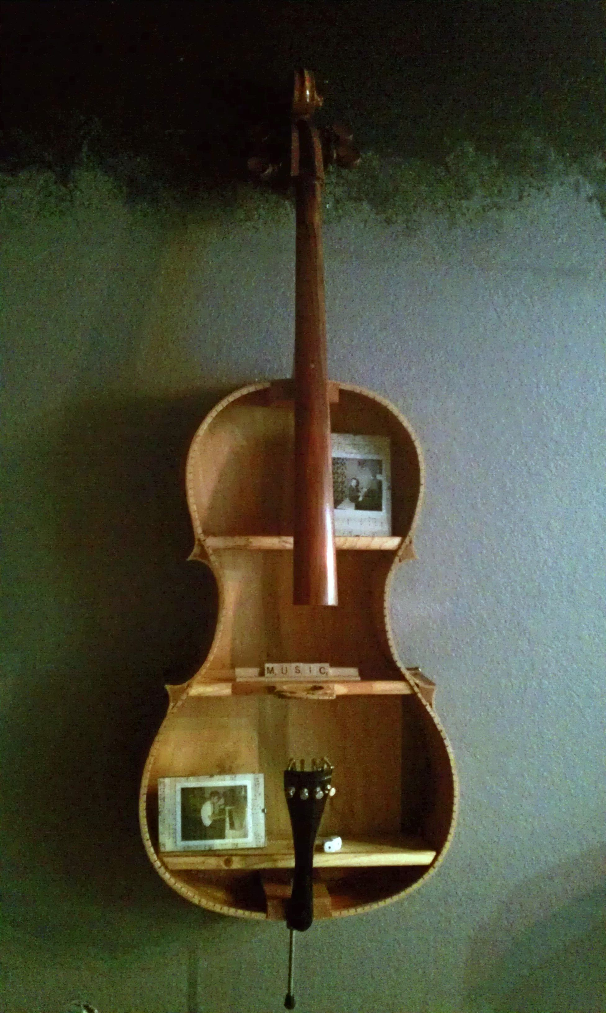 Cello was given to me. had a broken neck beyond repair
