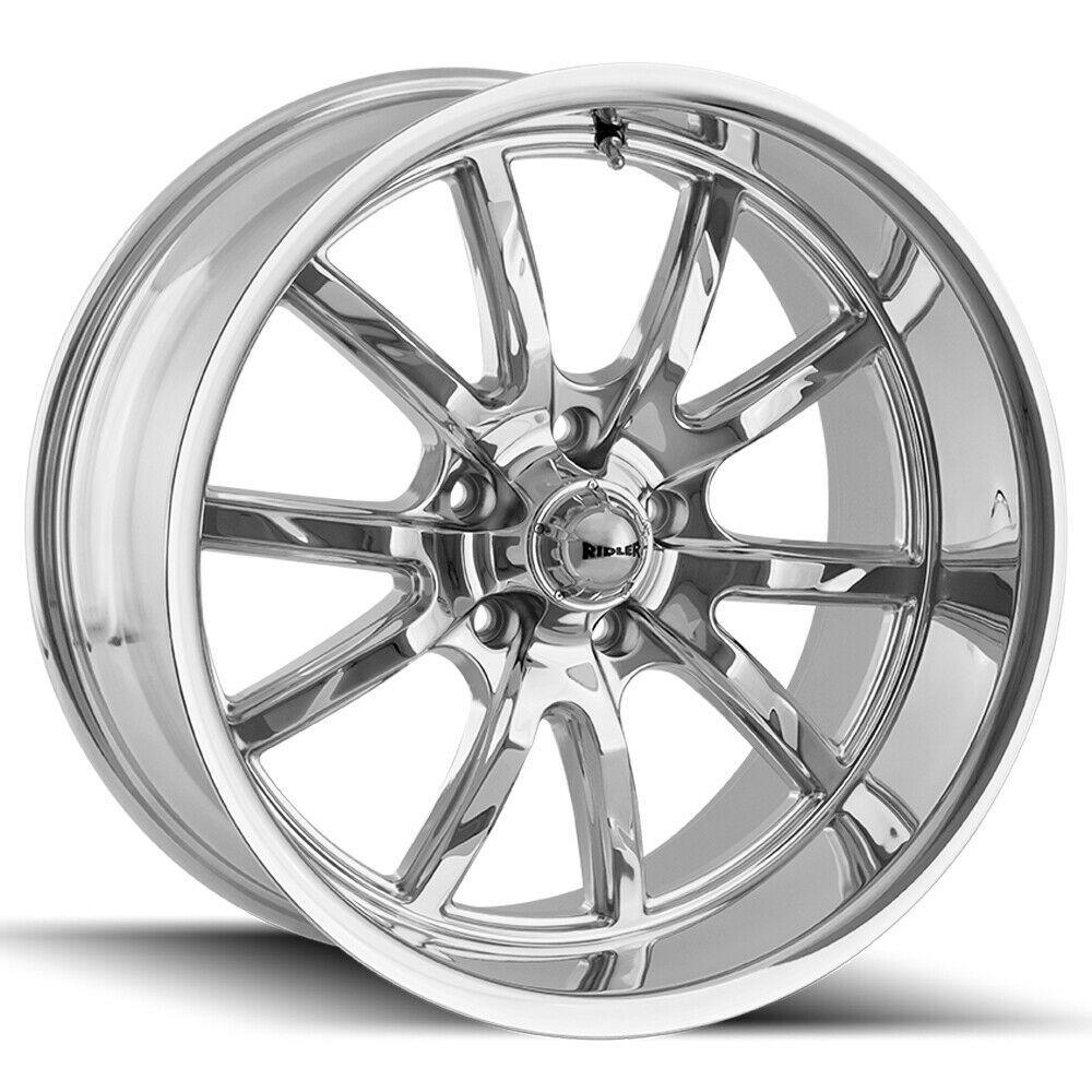Advertisement Ebay Ridler 650 20x10 5x4 5 38mm Chrome Wheel Rim 20 Inch Wheel Rims Chrome Wheels Mustang Wheels