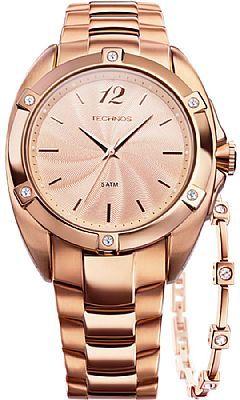 dc09aed9cdd Relógio Technos Feminino Elegance Swarovski 2035FFO 4T