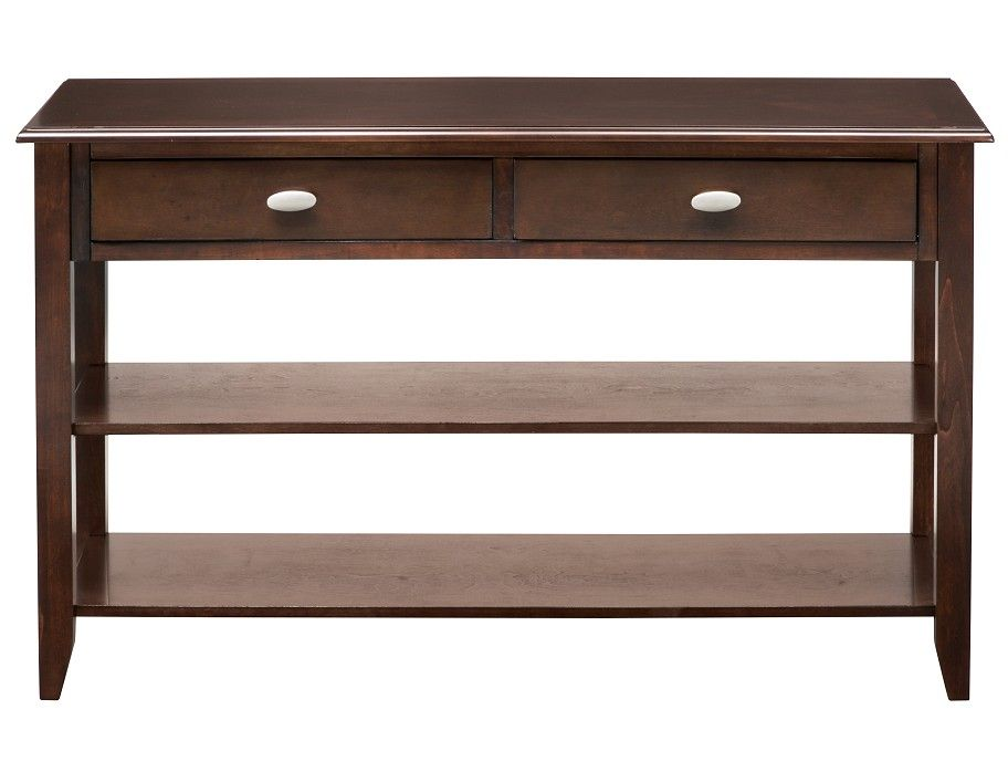 Fantastic Slumberland Radcliffe Collection Merlot Console Table Pdpeps Interior Chair Design Pdpepsorg