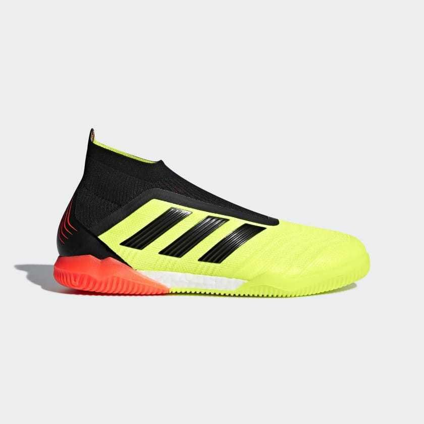 6ed67b5e2 eBay  Sponsored Adidas Mens Predator Tango 18 IN Indoor Soccer Shoes Cleats  Solar Yellow DB2052