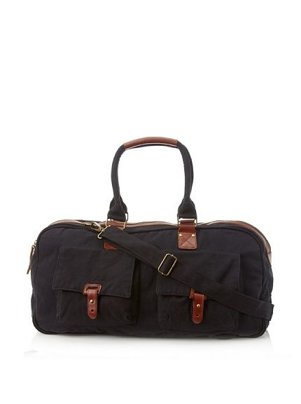 J. Campbell Los Angeles Men's Washed Canvas Duffle at MYHABIT