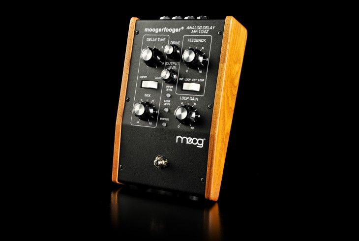 Moog Moogerfooger Analog Delay MF-104z >> This sweetness is not produced anymore. Hope to find at a good price somewhere, someday.