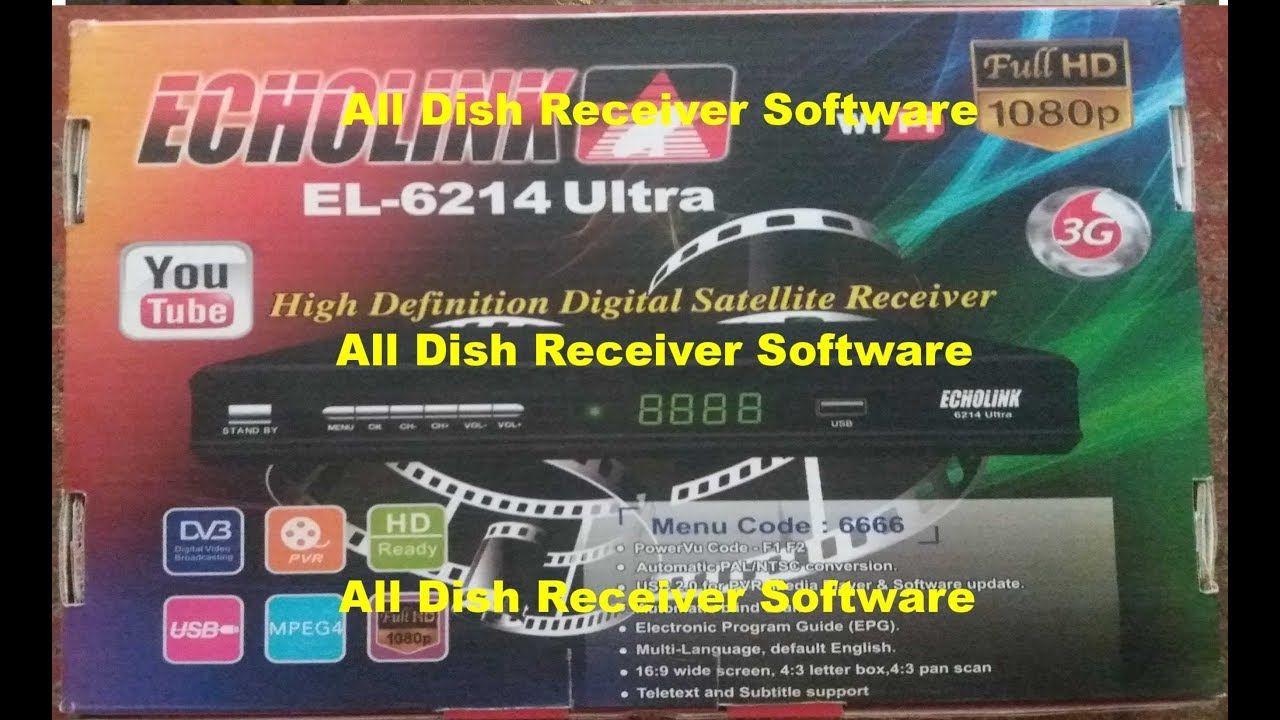 ECHOLINK EL 6214 ULTRA HD RECEIVER AUTO ROLL BISS KEY NEW