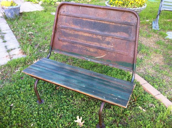 Fine Beautiful And Rustic Upcycled Bus Seat Bench In By Uwap Interior Chair Design Uwaporg