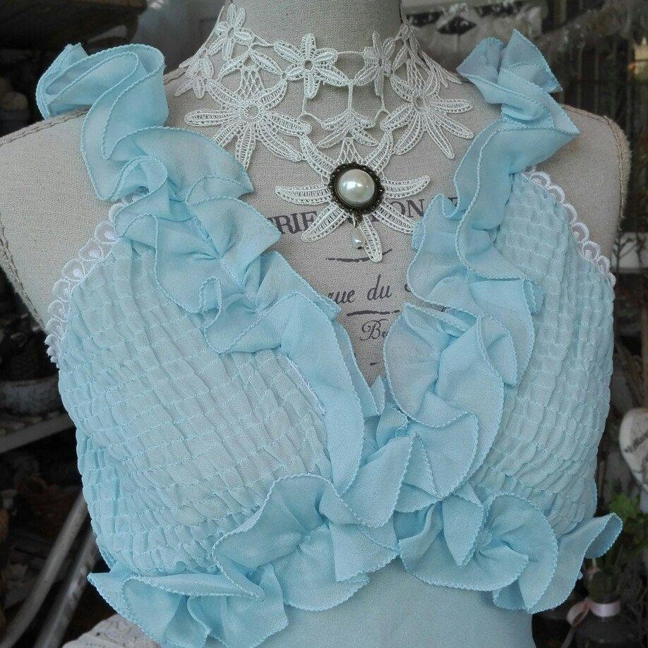 Nightgown VINTAGE Shabby chic camicia da notte shabby chic