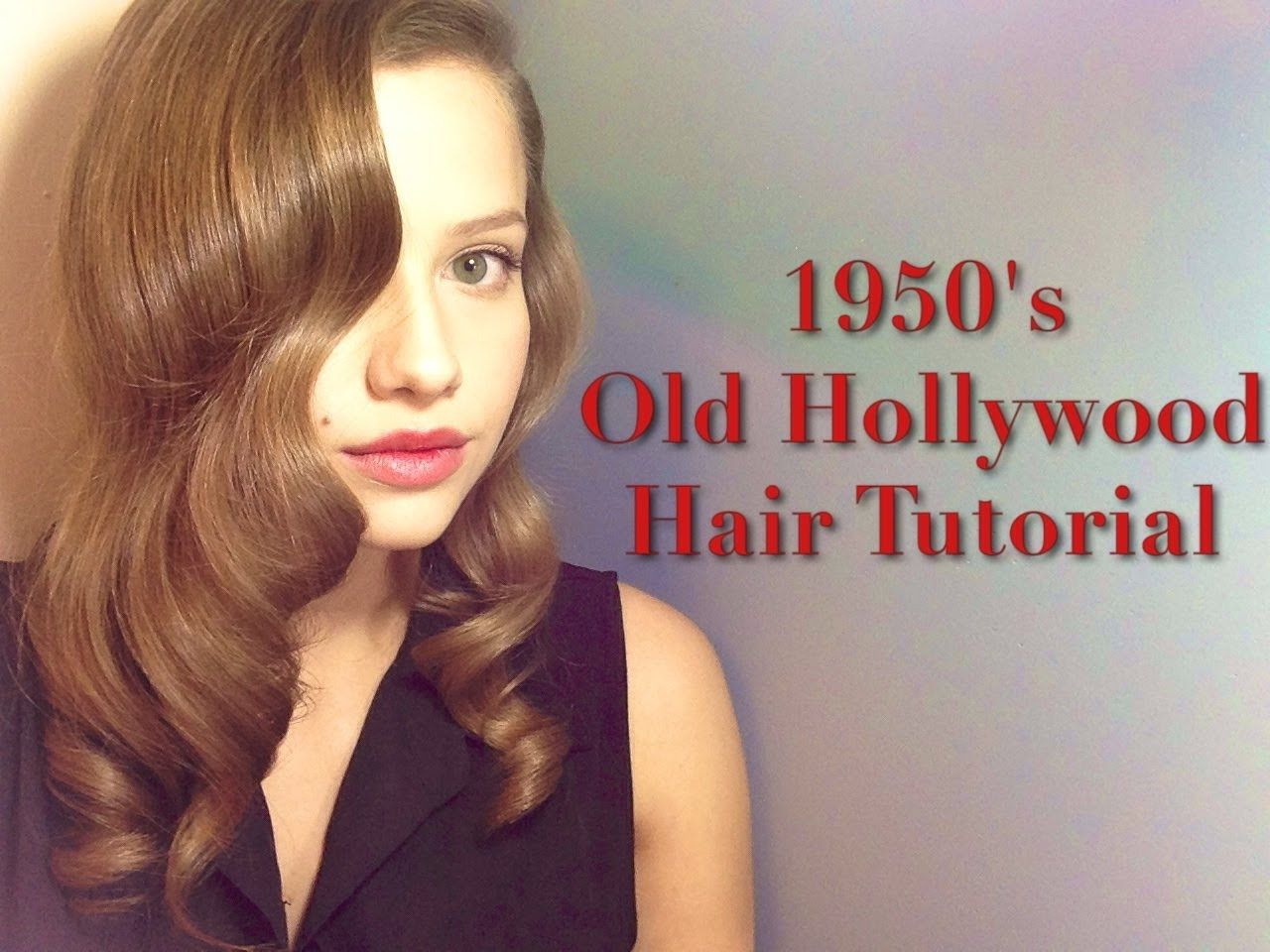 1950s/old hollywood inspired hairstyle | hair in 2019 | 50s