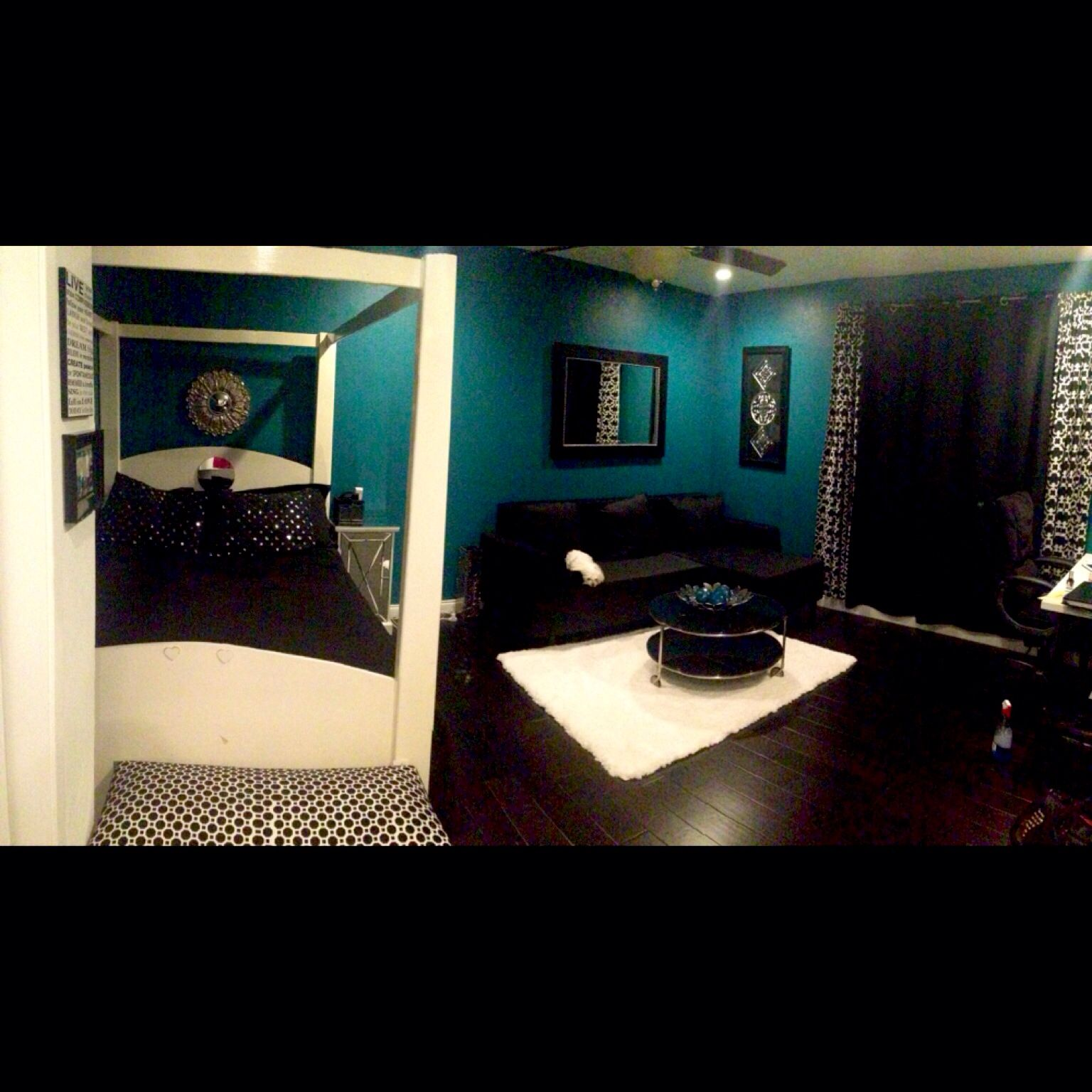 Teal Bedroom Ideas Rooms Pinterest