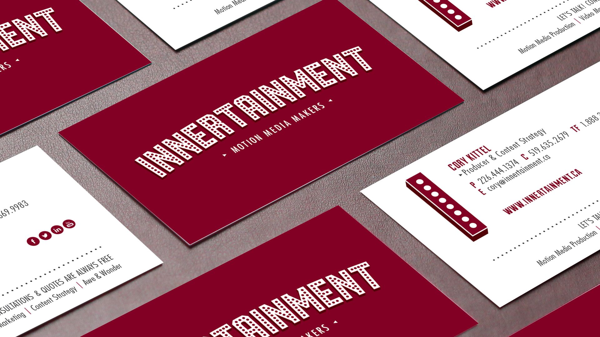 Innertainment | Business Cards Innertainment is a collaborative and ...