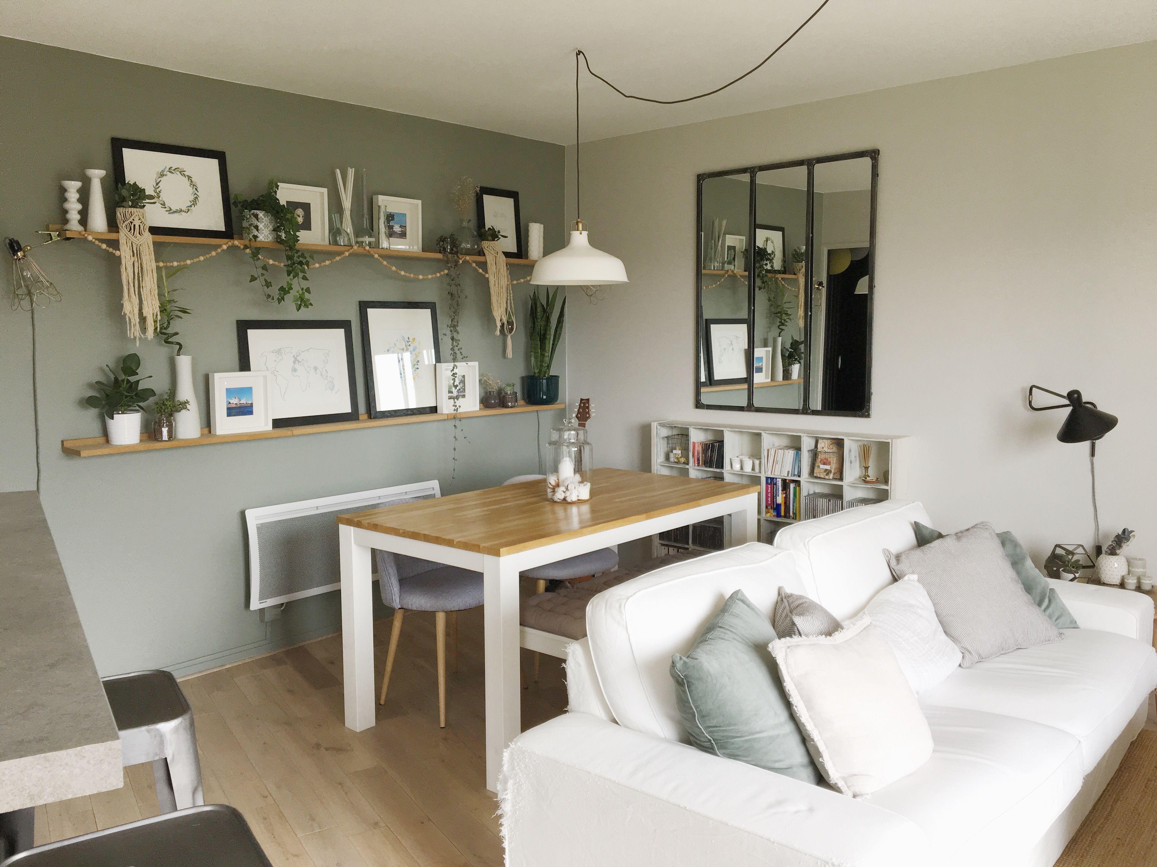 Amenagement Petit Salon Salle A Manger Cuisine home tour : visite de notre appartement | décoration salon