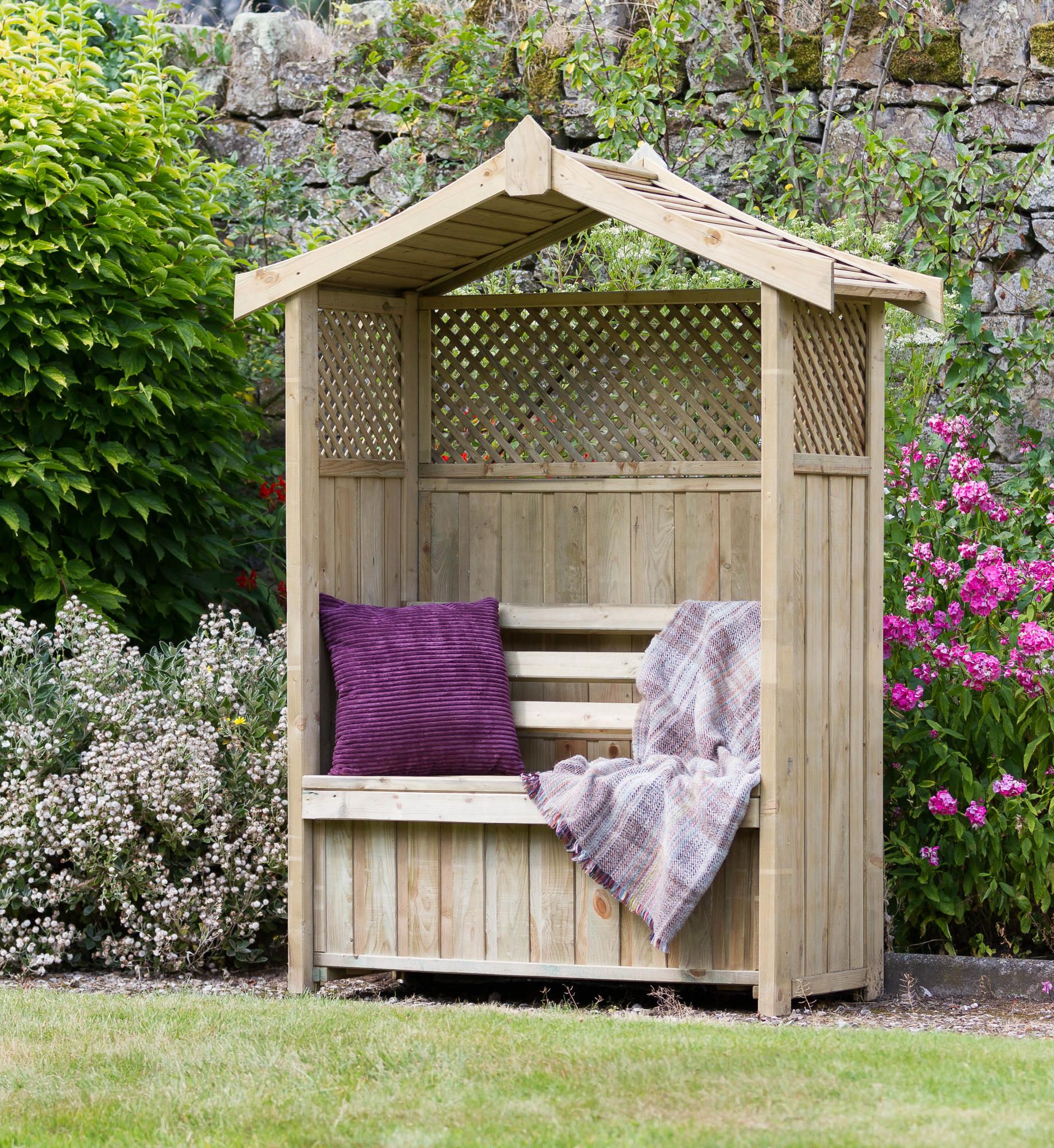 Prime Zest 4 Leisure Dorset Arbour With Storage Box Arbor Pdpeps Interior Chair Design Pdpepsorg
