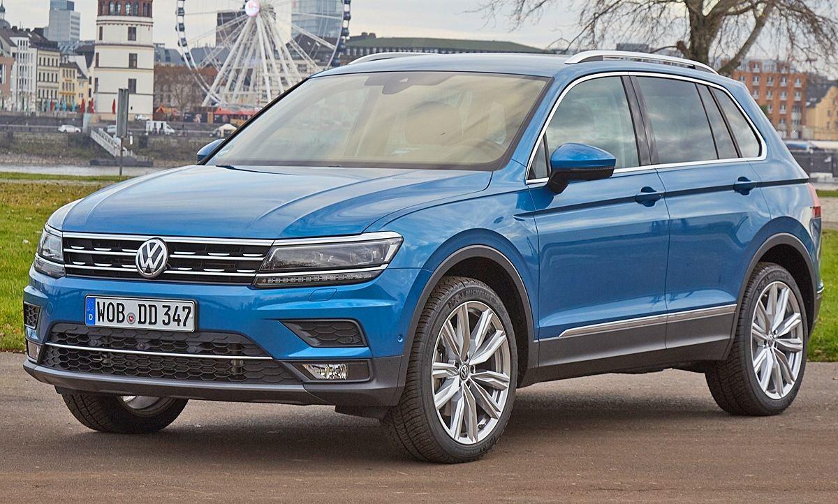 New Vw Tiguan 2021 Volkswagen Suv Interior Pictures