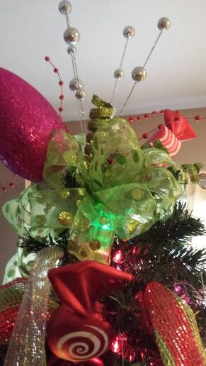 whovillewhimsical christmas tree topper - Whimsical Christmas Tree Toppers