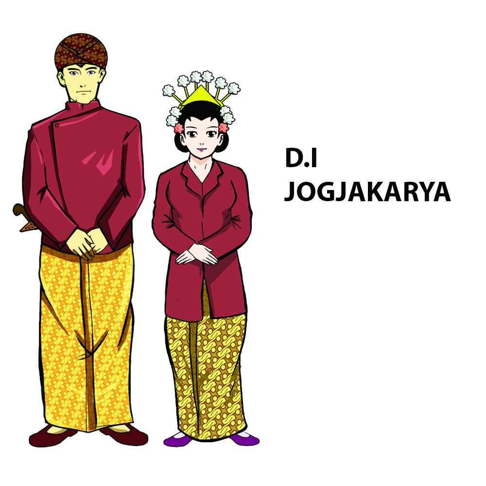 Contoh Pakaian Adat Yogyakarta