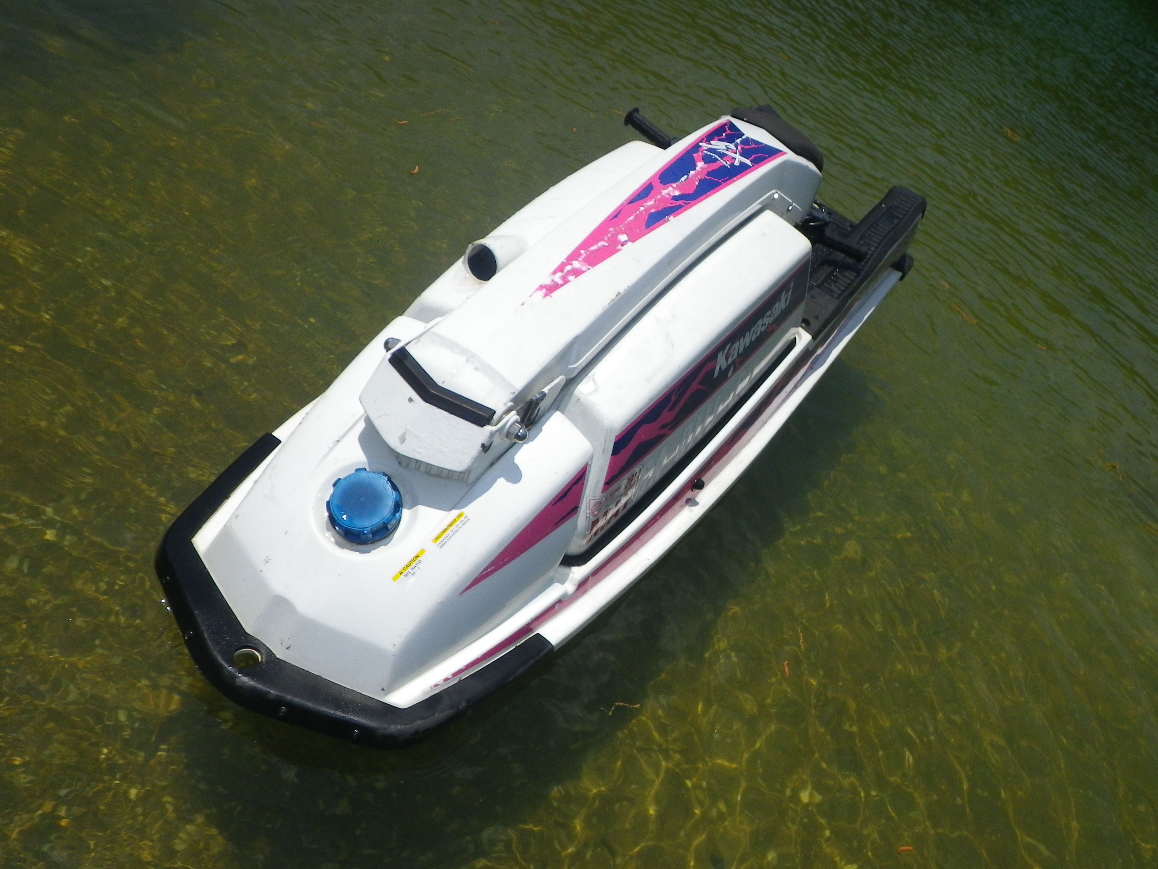 Just Picked Up A 91 Kawasaki 550sx First Stand Up I Have Tried Now I Have Two Jet Ski Skiing Water Crafts