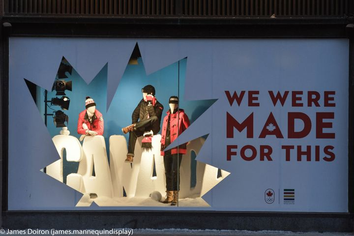 Hudson Bay 2014 Sochi Olympics Windows, Toronto