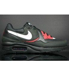 detailed look aac3e c3688 Chaussure Nike Air Max Light Homme Code de Style  315827-033 Noir   Blanc    Université Rouge   Pourpre-20