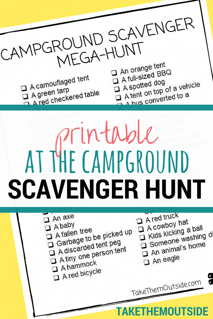 Looking For An Outdoor Summer Activity For Your Next Camping Trip