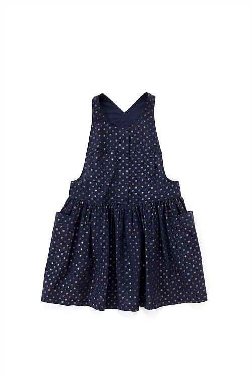 Star Dress for your little flower girls