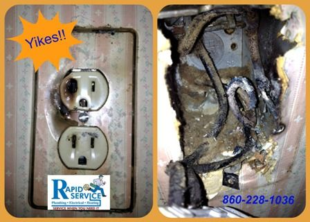Signs Of Bad Electrical Outlet Manchester Plumbers Electrical Outlets Heating And Plumbing Electricity