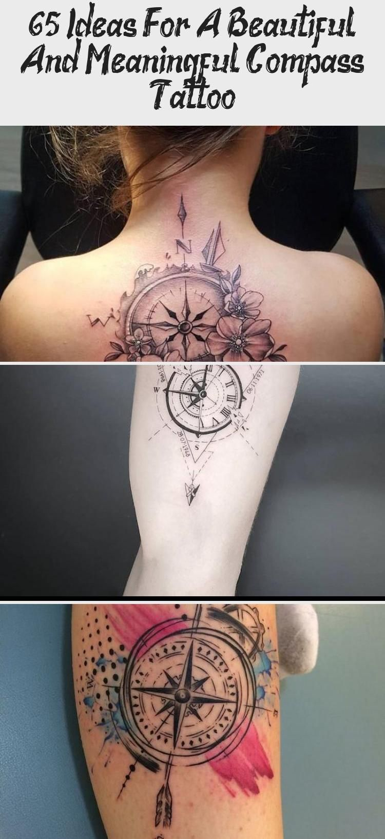 65 Ideas For A Beautiful And Meaningful Compass Tattoo – Tattoos