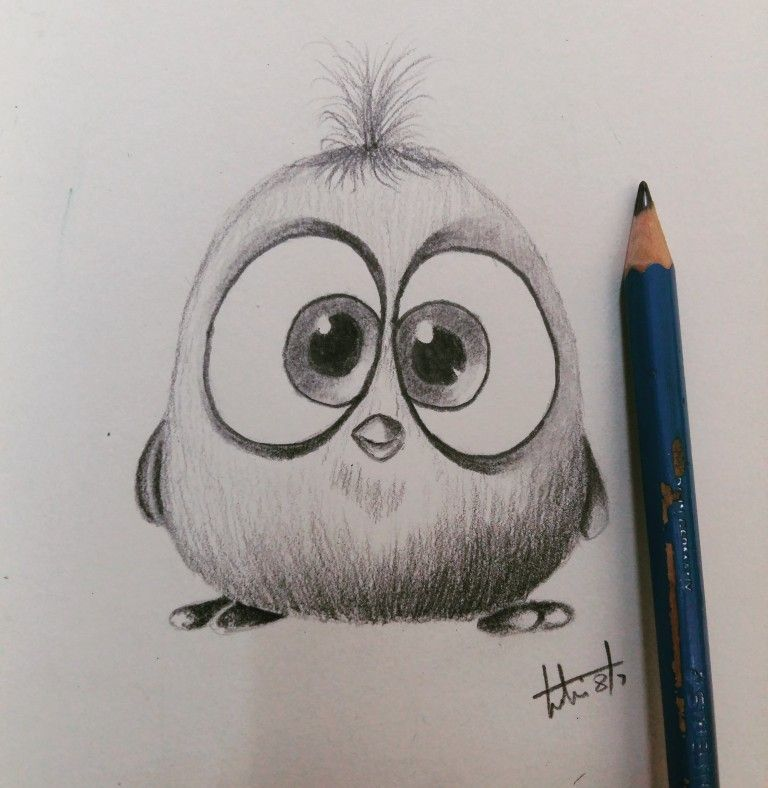 Wütender Vogel