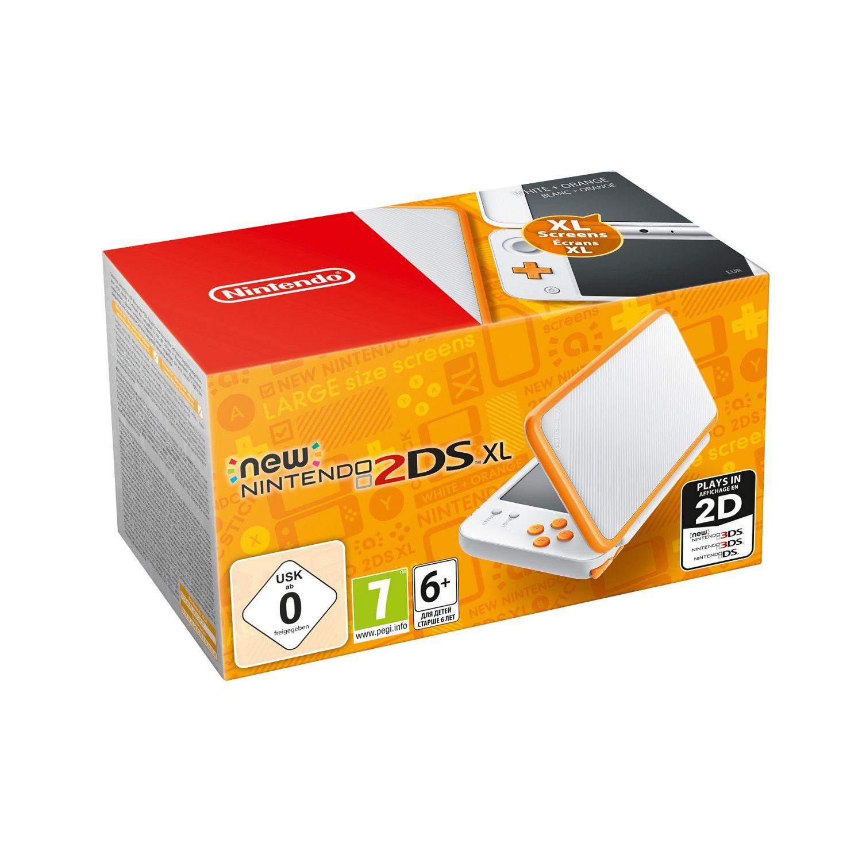 Console Nintendo New 2ds Xl Blanc Et Orange La Console A Prix Carrefour Nintendo 2ds Jeux Nintendo 3ds Nintendo 3ds