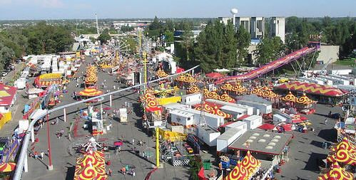 What are some events at Cal Expo in Sacramento?