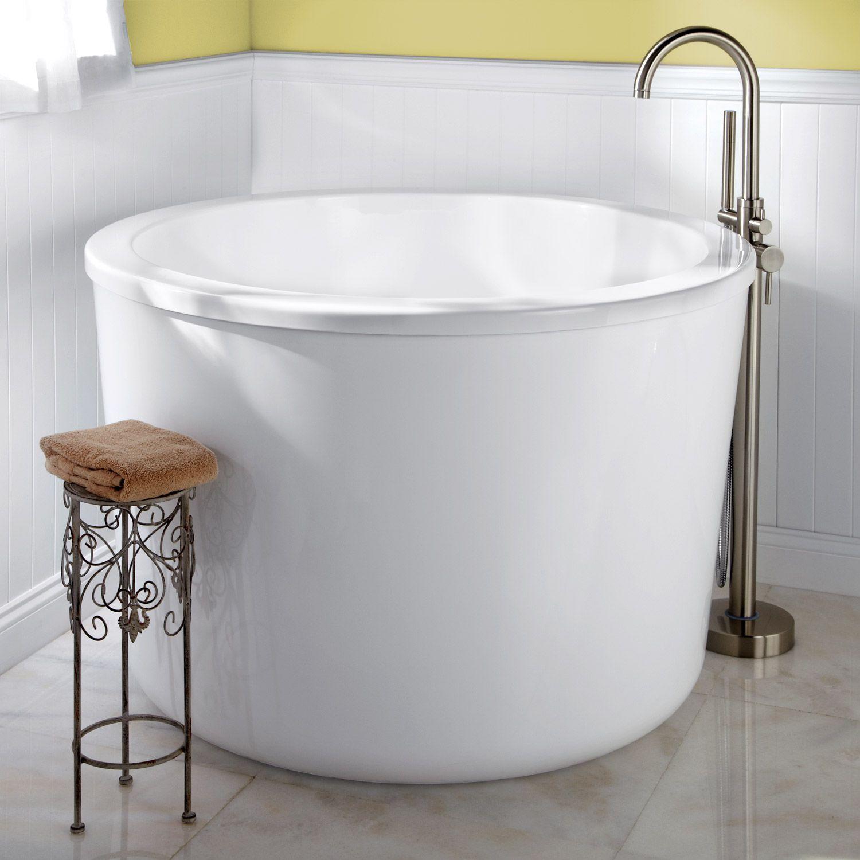 47 Caruso Acrylic Japanese Soaking Tub Bathroom Small Soaking Tub Japanese Soaking Tubs Small Soaker Tub