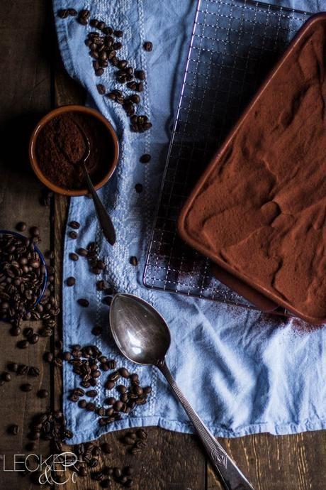 Tiramisu mit selbstgebackenem Bisquit