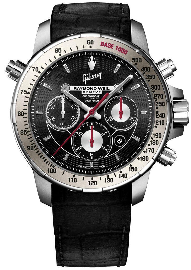Raymond Weil Watch Nabucco Gibson Men Watches Swiss Luxury