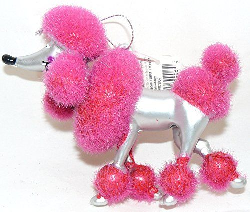 Silver Pink Poodle Christmas Dog Ornament Holiday Time http://www.amazon.com/dp/B00OPC0XTC/ref=cm_sw_r_pi_dp_D0jdvb0EQVF3C