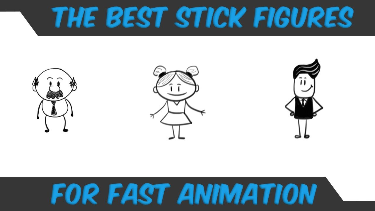 How to draw stick figures for animation in 2020 stick