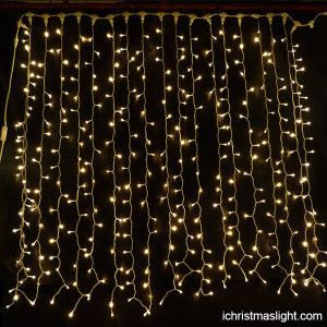 Led Christmas Curtain Lights Factory In China Ichristmaslight Christmas Light Curtains Led Curtain Lights