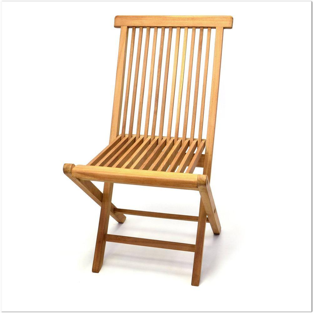 29 Divero Klappstuhl Teak Holz Garten Stuhl Klappbar In Garten