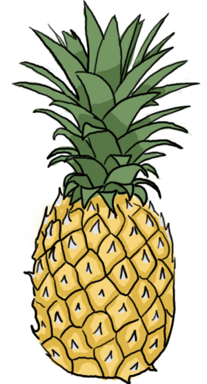 How to draw a pineapple google search bullet journal - Ananas dessin ...