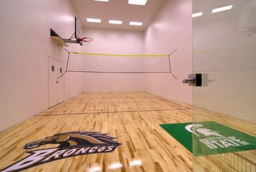 Racquetball Court Design Ideas Pictures Remodel And Decor Home Basketball Court Indoor Sports Court Racquetball