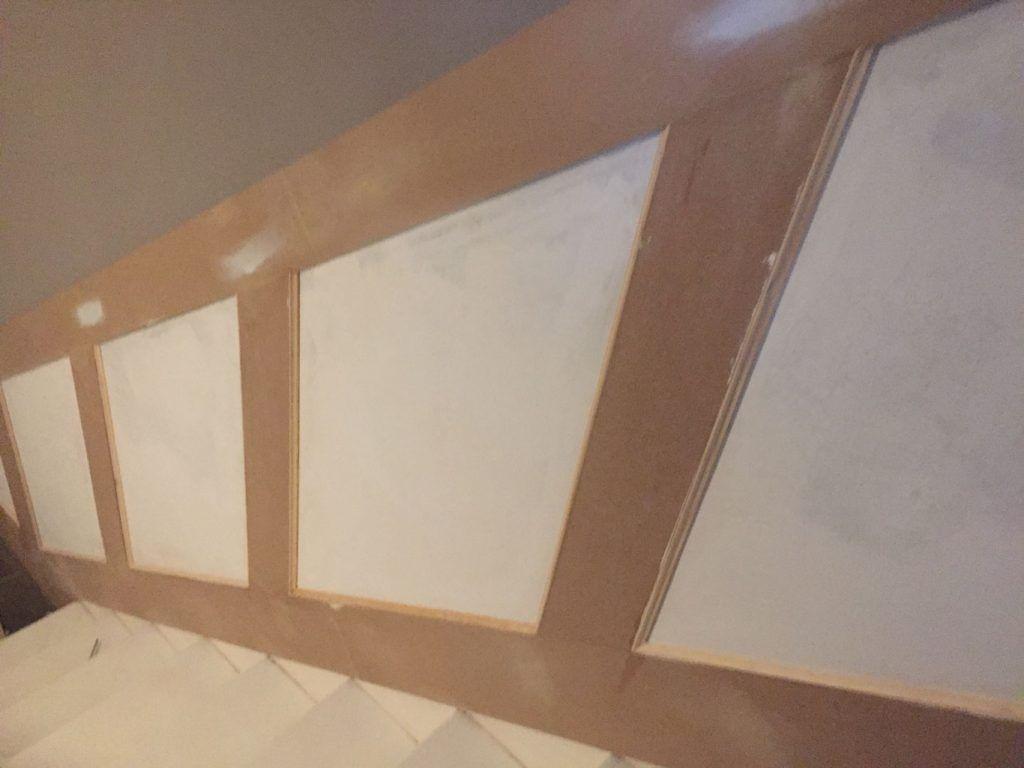 Treppenaufgang Landhaus Wandvertafelung Vertafelung Haus Deko