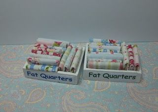Make It Small: Boxes of Fabric