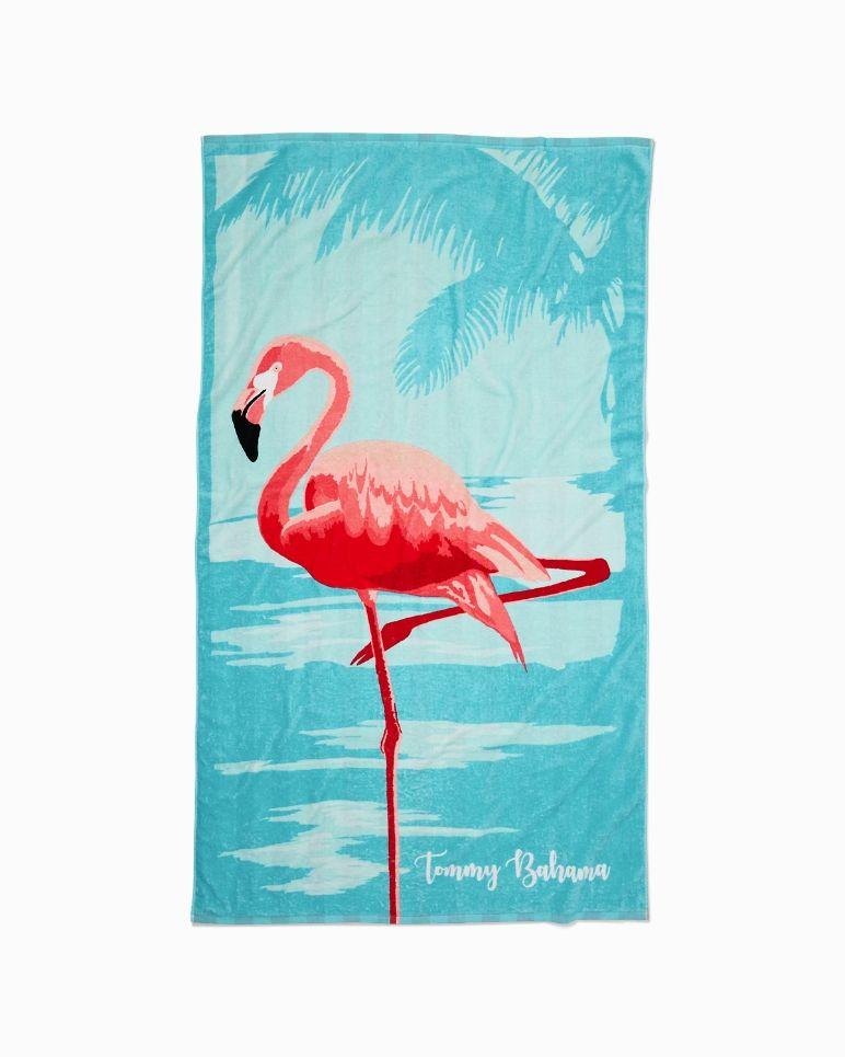 Main Image For Temp Title Reversible Towel Flamingo Flamingo