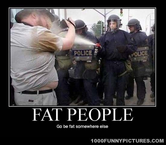 Fat People – Demotivational Posters   Funny stuff ...
