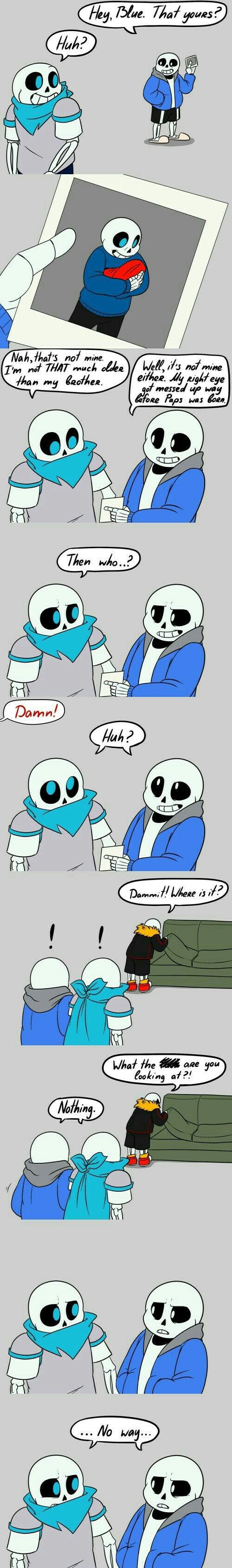 Is that underfell sans's  photo?!!