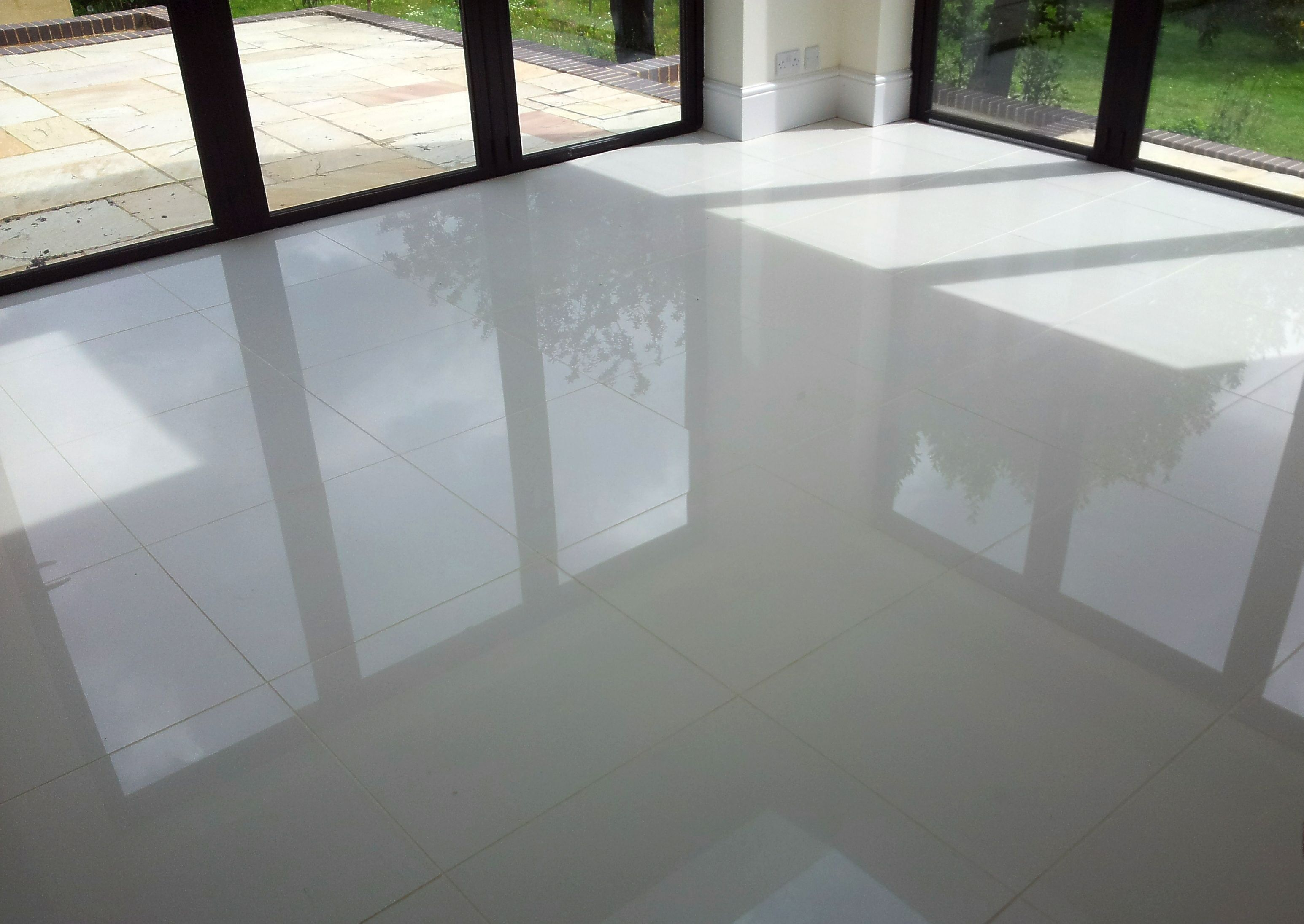 Large Grey Gloss Floor Tiles Tile