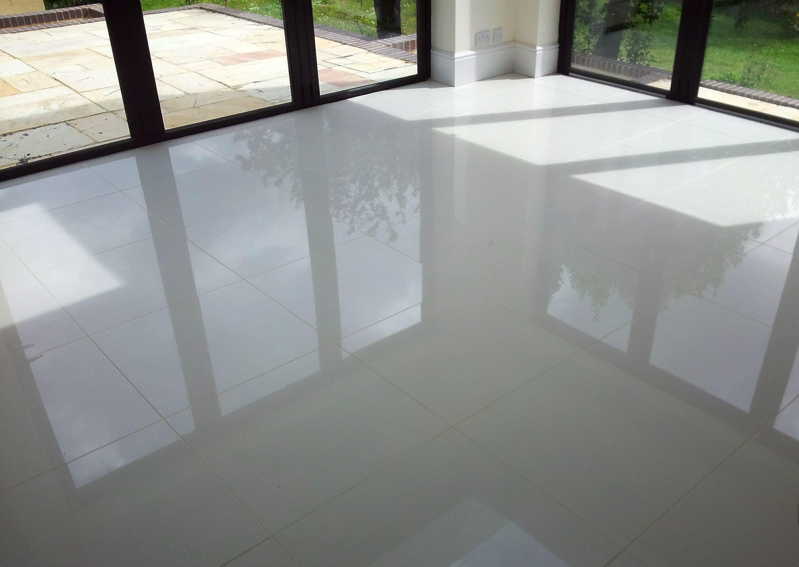 Large Grey Gloss Floor Tiles Tile floor, Large floor