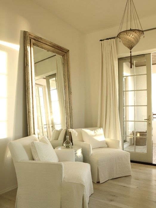 love the huge mirror the iron gate monochromatic bedroom 15269 | 19f96eac4d30d02ea3afa0f970c42b64